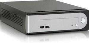 Morex Cubid 3677 black, 60W external, mini-ITX