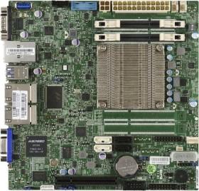 Supermicro MBD-A1SRI-2358F-O<br>Supermicro A1SRI-2358F - Intel - BGA 1283 - Intel Atom - C2358 - 7 W - DDR3-SDRAM