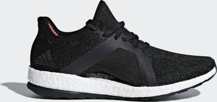 arrives cc9c1 755a0 adidas Pure Boost X element black five core black real coral (ladies)  (BB6086)
