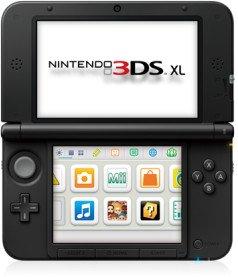 Nintendo 3DS XL silber/schwarz