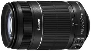 Canon Objektiv EF-S   55-250mm 4.0-5.6 IS II (5123B005)