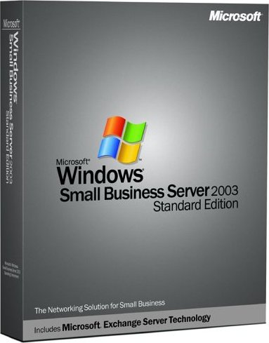 Microsoft: Windows Small Business Server 2003 (SBS) Standard wraz z 5 licencjami (angielski) (T72-00020) -- via Amazon Partnerprogramm