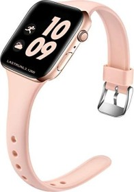 Wepro Silikonarmband M/L für Apple Watch Series 42/44mm sandrosa