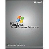 Microsoft: Windows Small Business Server 2003 (SBS) Standard non-OSB/DSP/SB, inkl. 5 User (englisch) (E75-00956)