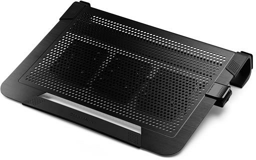 Cooler Master NotePal U3 PLUS schwarz, Notebook-Kühler (R9-NBC-U3PK-GP)