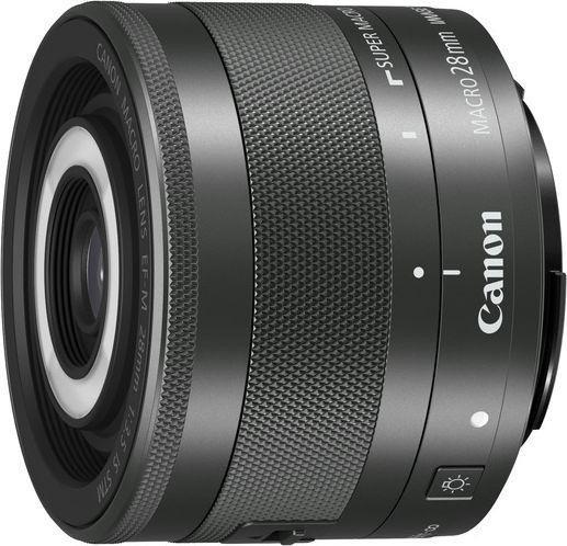Canon EF-M 28mm 3.5 Macro IS STM schwarz (1362C005)
