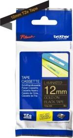 Brother TZe-334 label-making tape 12mm, gold/black (TZE334)