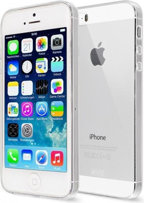 artwizz nextskin f r apple iphone 5 5s transparent. Black Bedroom Furniture Sets. Home Design Ideas