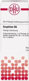 DHU Graphites D6 Dilution, 20ml