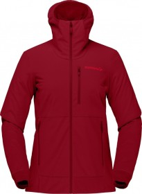 Norrøna lofoten Hiloflex200 Hood Jacke rot (Damen) (1043-20-5700)