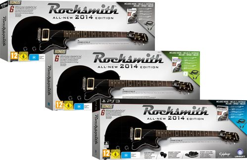 rocksmith 2014 bundle inkl gitarre deutsch ps4. Black Bedroom Furniture Sets. Home Design Ideas