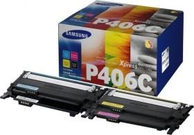Samsung Toner CLT-P406C Rainbow Kit (SU375A)