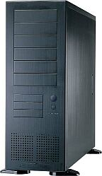 Lian Li PC-71, Big-Tower, aluminum black, noise-insulated (various Power Supplies)