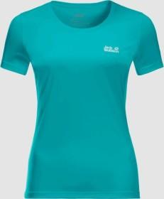 Jack Wolfskin Tech Shirt kurzarm aquamarine (Damen) (1807121-1105)