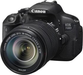 Canon EOS 700D schwarz mit Objektiv EF-S 18-135mm 3.5-5.6 IS STM (8596B035)