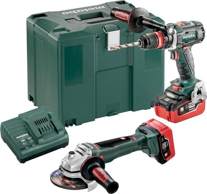 Metabo Combo Set 2.4.5 Cordless Tool Set incl. case + 2 Batteries 5.5Ah (685094000)