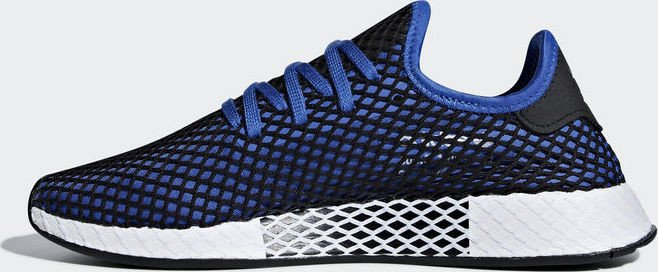 85e8fc8a317d8 adidas Deerupt Runner hi-res blue core black (men) (B41764) starting ...