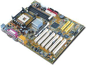Albatron PX845G Pro, i845G (DDR)