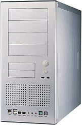 Lian Li PC-60 USB, Midi-Tower, aluminum with USB-panel, noise-insulated (without power supply)