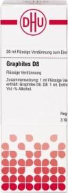 DHU Graphites D8 Dilution, 20ml