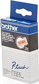Brother TC-B01 12mm, orange auf schwarz -- via Amazon Partnerprogramm