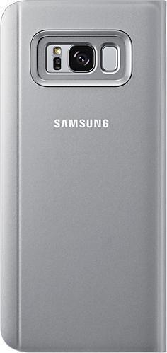 Samsung Clear View Standing Cover für Galaxy S8+ silber (EF-ZG955CSEGWW)