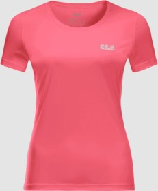 Jack Wolfskin Tech Shirt kurzarm coral pink (Damen) (1807121-2172)