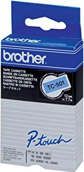 Brother TC-501 12mm blau/schwarz -- via Amazon Partnerprogramm
