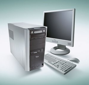 Fujitsu Scenic W600, Pentium 4 3.20GHz