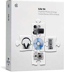 Apple: iLife '04 Family Pack, 5 User (deutsch) (MAC) (M9466D/A)