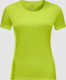 Jack Wolfskin Tech Shirt kurzarm bright lime (Damen) (1807121-4122)