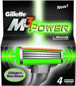 Gillette M3 Power replacement blades 4-pack