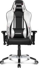 AKRacing Master Premium Gamingstuhl, schwarz/silber (AK-PREMIUM-SV)