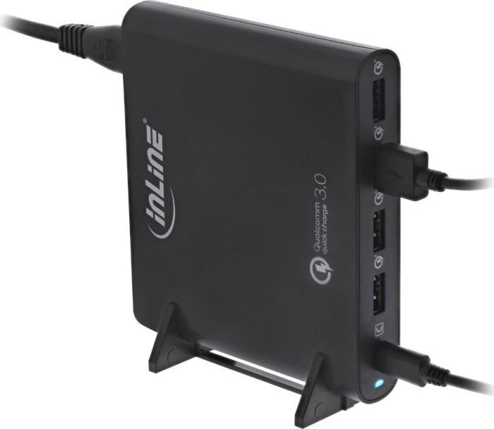 InLine Quick Charge 3.0 USB-A/USB-C Notebook-Ladegerät schwarz (31510S)