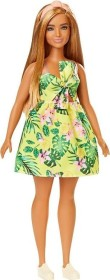 Mattel Barbie Fashionistas im Hawaii-Kleid Curvy (FXL59)