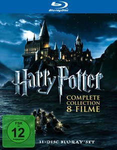 Harry Potter Box (Filme 1-7, Teil 2) (Blu-ray)
