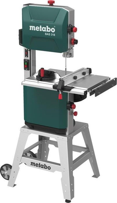 Metabo BAS 318 WNB Precision electric band saw incl. base frame (619009000)