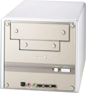 Shuttle XPC SB51G mini-Barebone aluminium (Socket 478/100/PC2700 DDR)