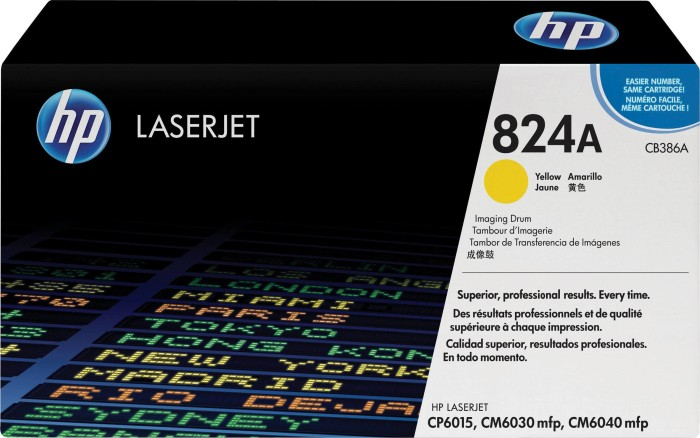 HP Trommel CB386A gelb