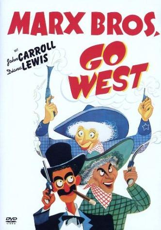 Die Marx Brothers - Go West -- via Amazon Partnerprogramm