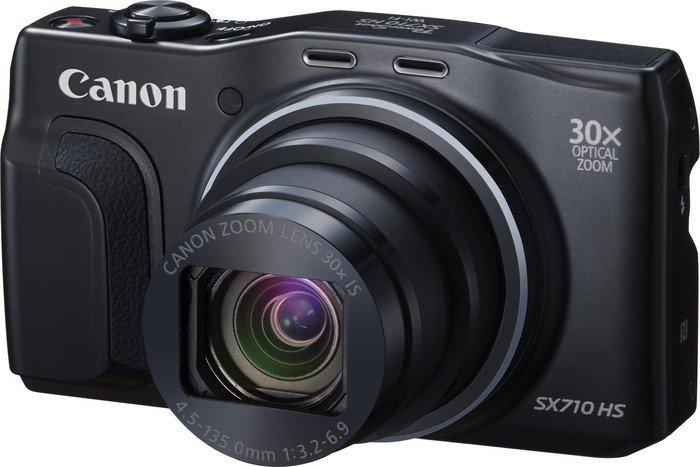 Canon PowerShot SX710 HS schwarz Travel Kit (0109C031)