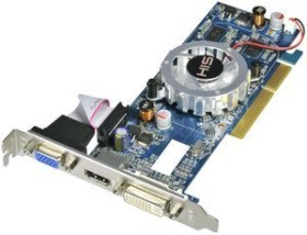 HIS Radeon HD 4350 iFan, 512MB DDR3, VGA, DVI, HDMI, low profile (H435F512HA)