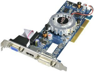 HIS Radeon HD 4350 iFan, 512MB DDR3, VGA, DVI, HDMI, low profile (H435F512HA)