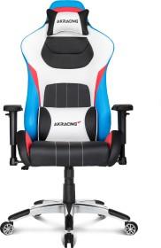 AKRacing Master Premium Gamingstuhl, schwarz/weiß/blau/rot (AK-PREMIUM-TRI)