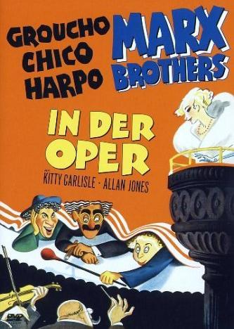 Die Marx Brothers - In der Oper -- via Amazon Partnerprogramm