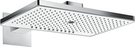 Hansgrohe Rainmaker Select shower head 460 3jet with shower arm chrome/white (24007400)