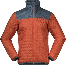 Bergans Røros Light Insulated Jacke bright magma/forest frost (Herren) (7676-13728)