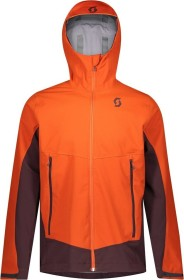 Scott Explorair Ascent WS Skijacke orange pumpkin/red fudge (Herren) (277690-6641)