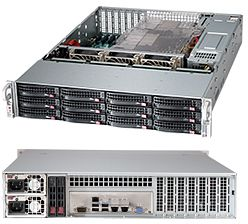 Supermicro 826BA-R920LPB black, 2U, 920W redundant