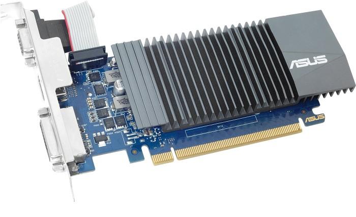 ASUS GeForce GT 710 Silent bulk, GT710-SL-1GD5-BRK, 1GB GDDR5, VGA, DVI, HDMI (90YV0AL2-M0NA00)